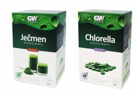 Chlorella Green Ways - original - v tabletách