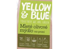 yellow & blue mleté olivové mýdlo na praní 100g