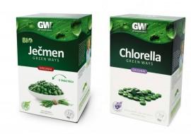 Duo Tablety: Ječmen Chlorella - zvýhodněná cena